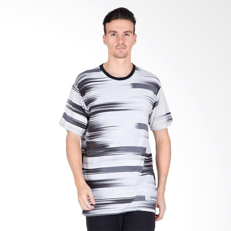 Tendencies Motion T-Shirt Pria - Grey Black