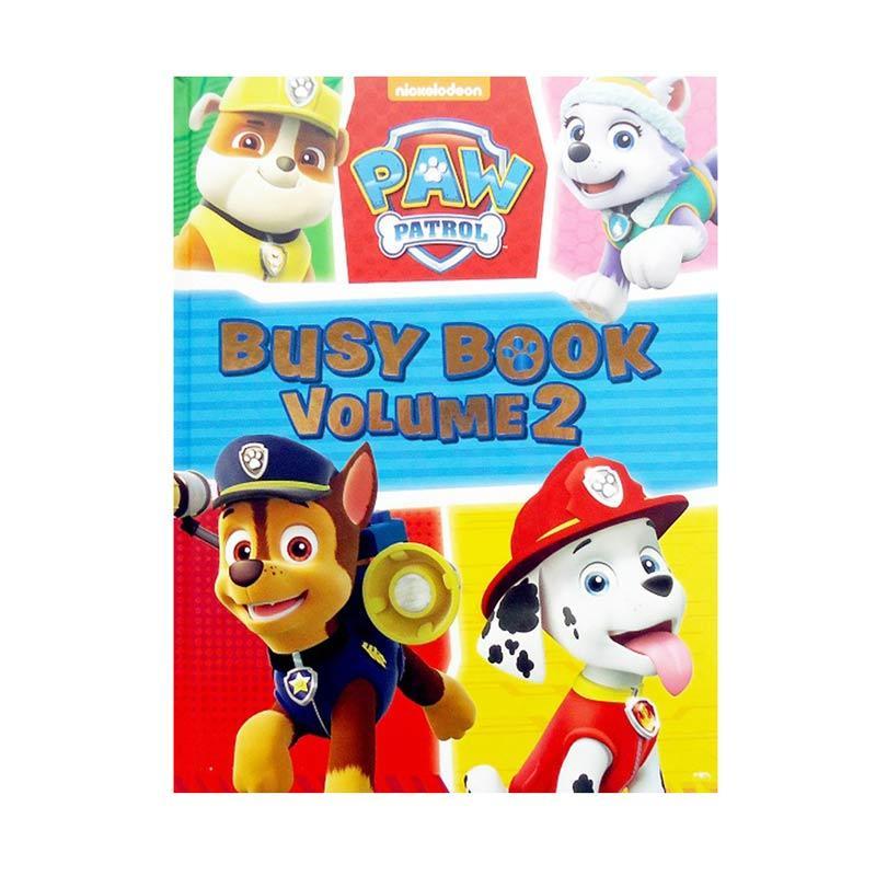 Genius Nickelodeon Paw Patrol Busy Book Volume 2 Buku Edukasi Anak