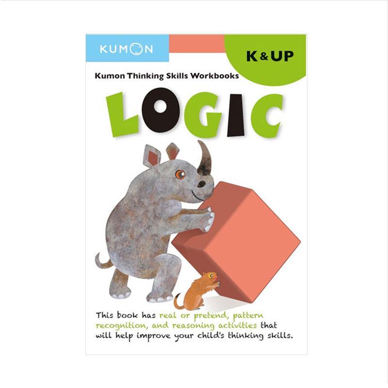 Genius Kumon Thinking Skill Workbooks Logic K&UP Buku Anak