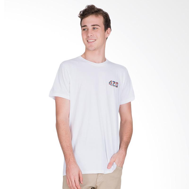 Tendencies 420 AMS T-Shirt Pria - White