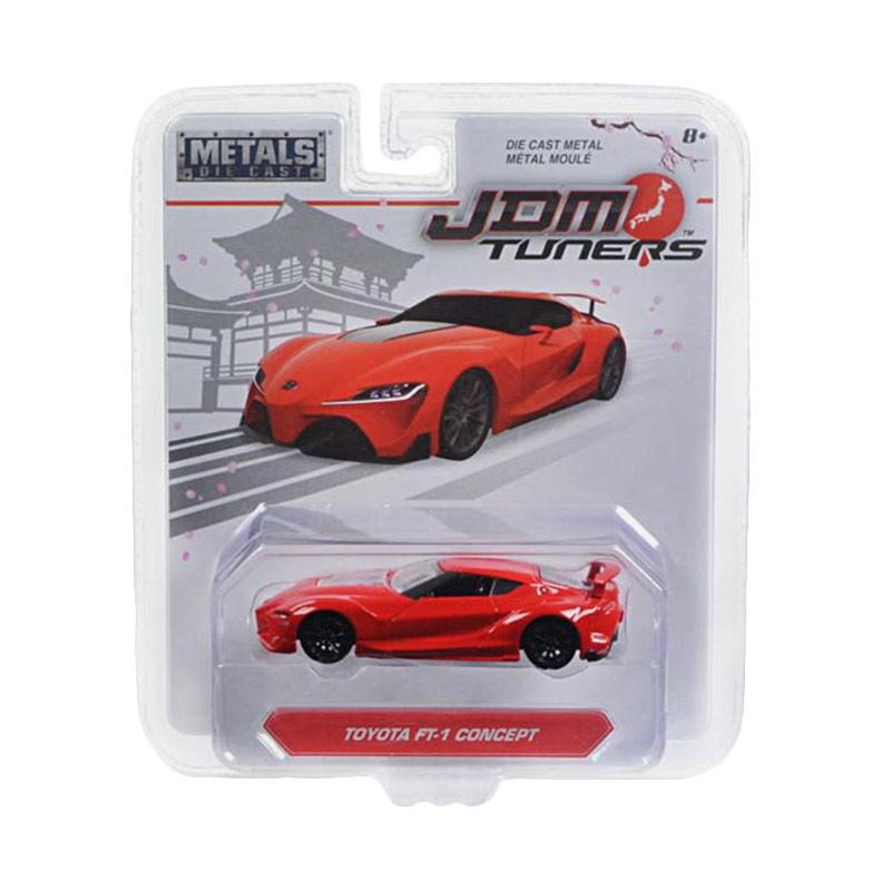 Toyota Ft 1 >> Jada Toyota Ft 1 Concept Diecast Red