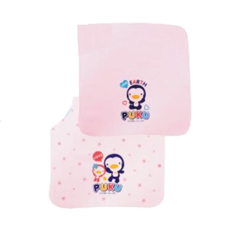 Puku 26606 Baby Gauze Handkerchief Sapu Tangan Bayi - Pink