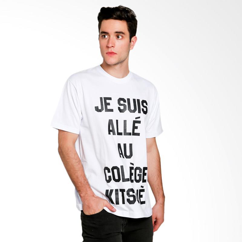 Hypestore Je Suis T-Shirt Pria - White [3021-8743]