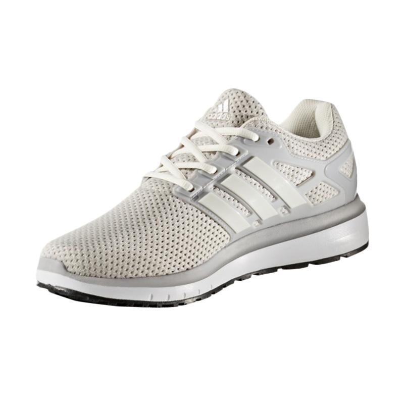 adidas Energy Cloud Running Sepatu Lari Pria - Grey White [BA8150]