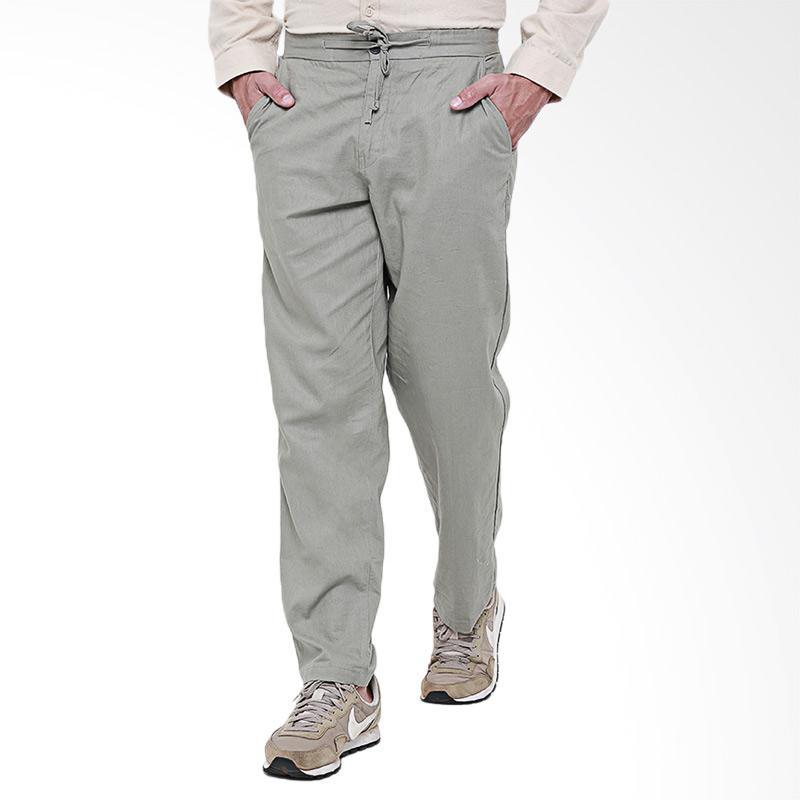 Tendencies Pants Homie Linen Celana Panjang Pria - Grey