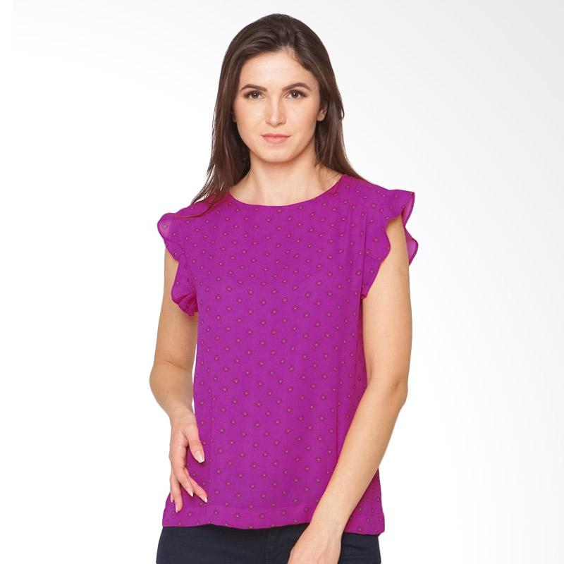A&D Fashion MS 1011 Lng Sleeve Ladies Blouse - Purple