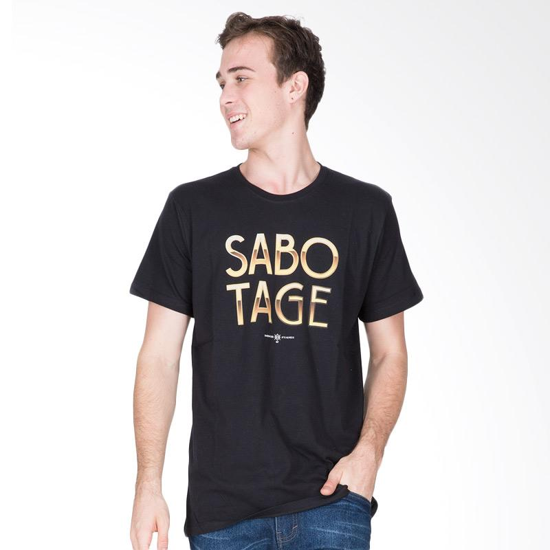 Tendencies Golden Sabotage Tshirt Pria