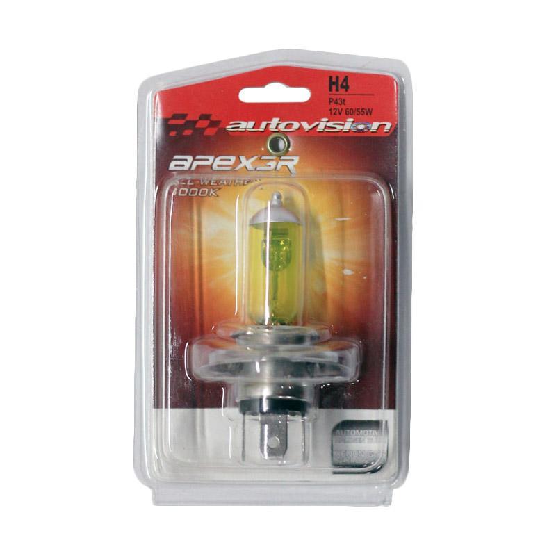 Autovision APEX MC H4 Lampu Halogen - All Weather [12V 60/55W]