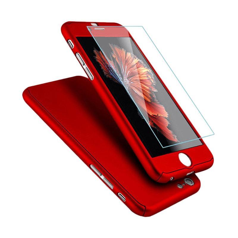 ... Harga OEM 360 Hardcase Casing for iPhone 6 Plus or iPhone 6S Plus Merah
