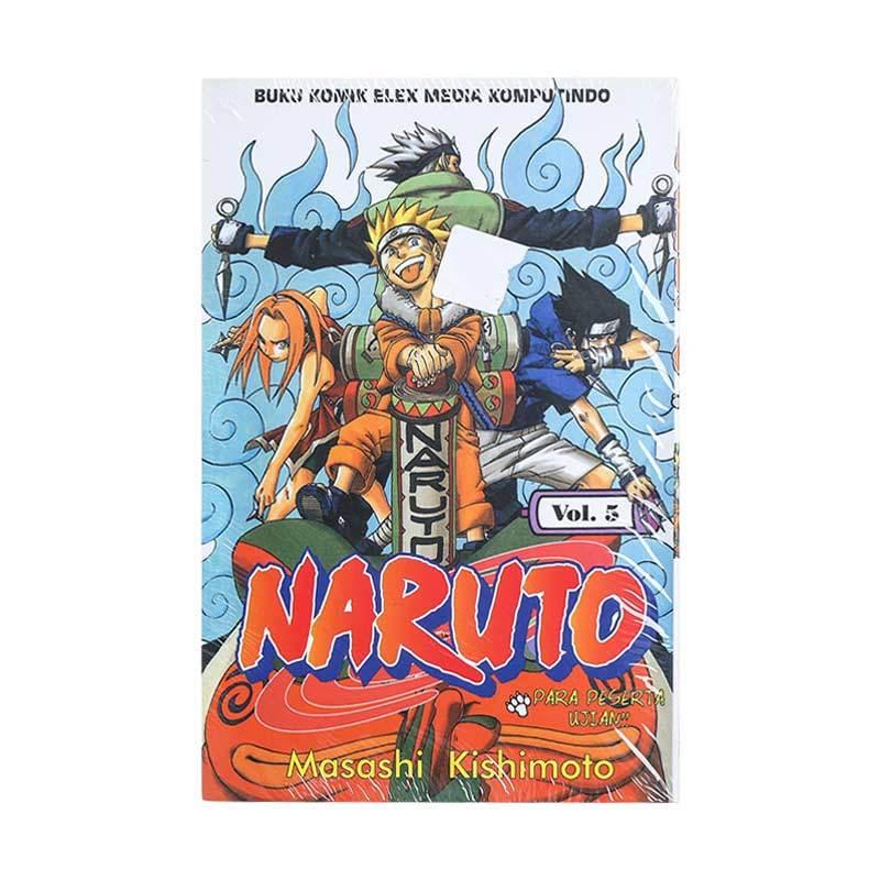 Elex Media Komputindo Naruto 05 200019647 by Masashi Kishimoto Buku Komik