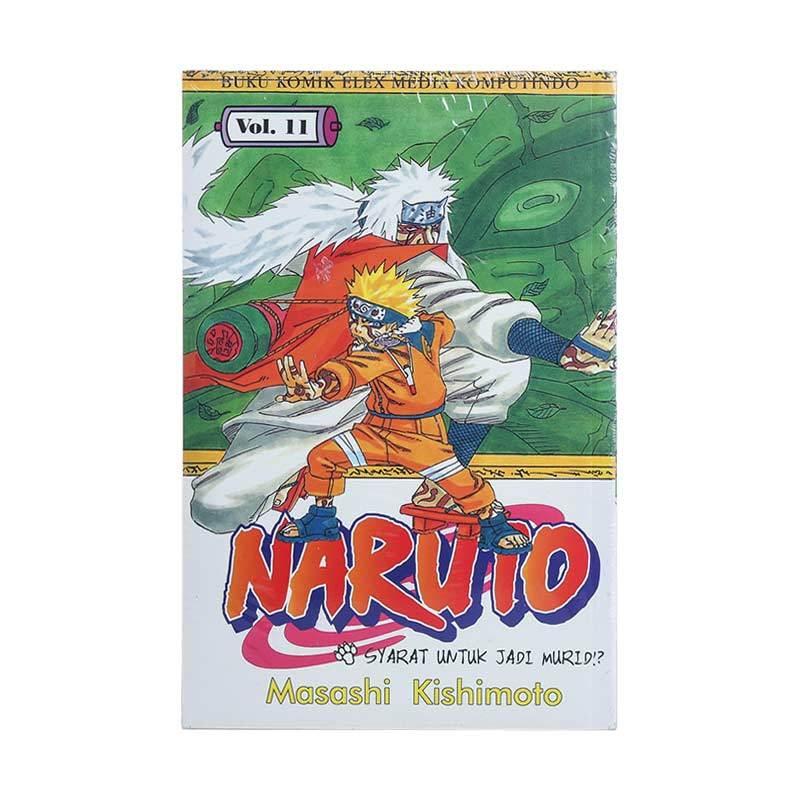 Elex Media Komputindo Naruto 11 200019538 by Masashi Kishimoto Buku Komik