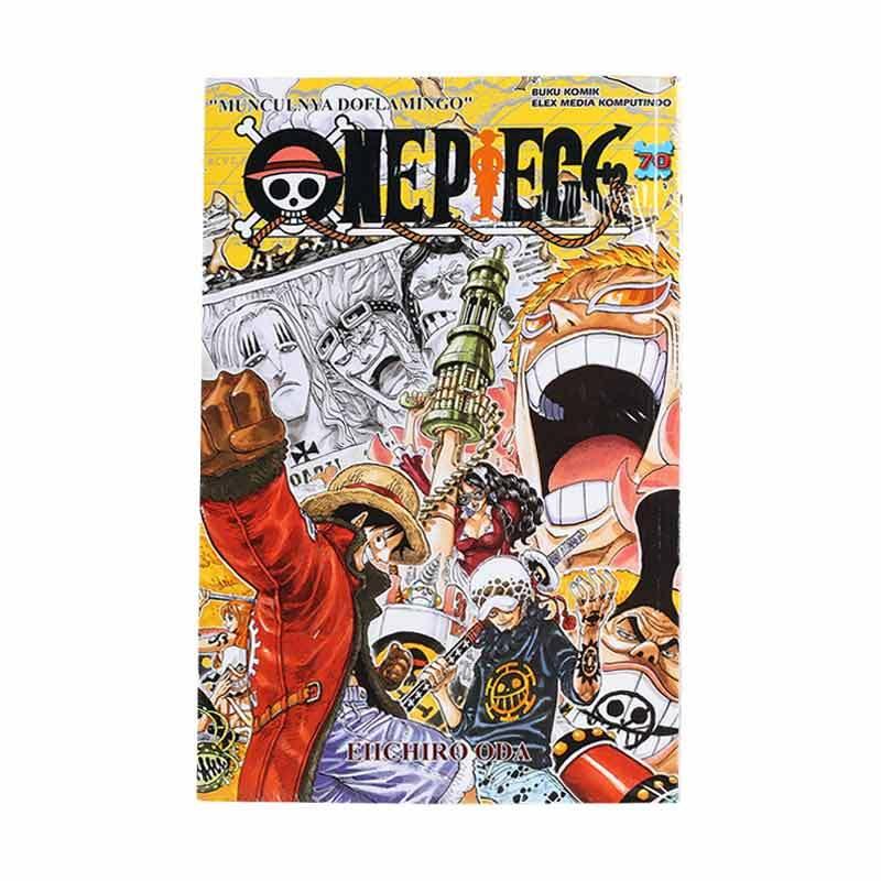 Elex Media Komputindo One Piece 70 203433504 by Eiichiro Oda Buku Komik
