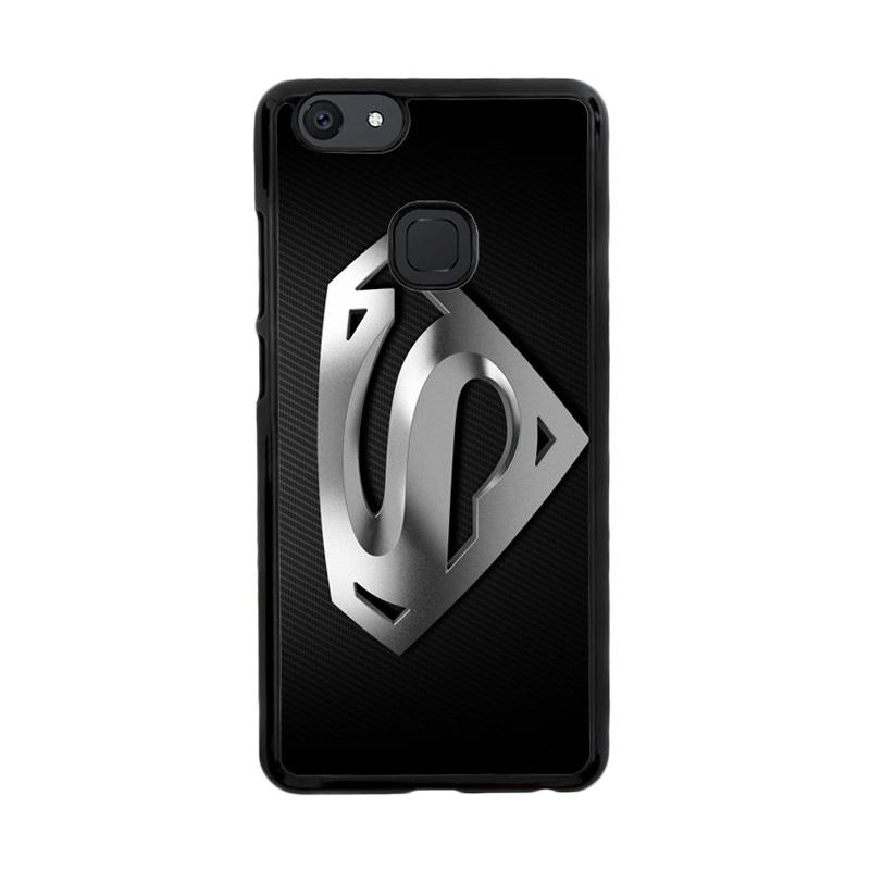 Flazzstore Superman Silver Logo Z1291 Custom Casing for Vivo V7