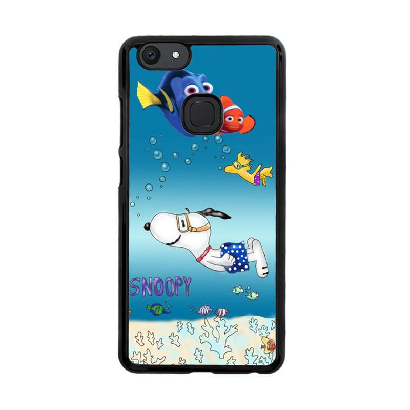 Flazzstore Snoopy Swimming Render Nemo X3266 Custom Casing for Vivo V7