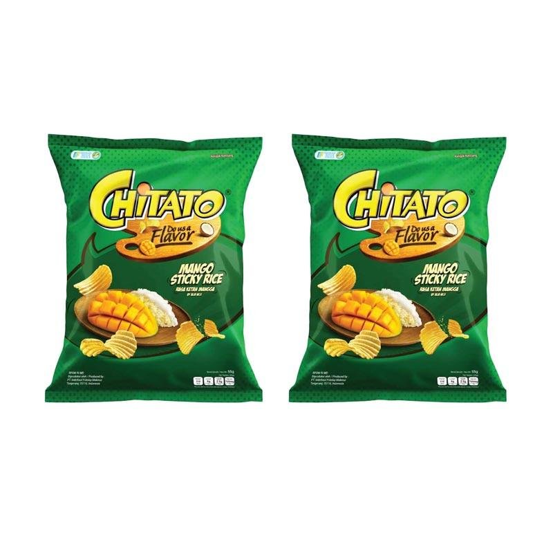 harga Chitato Mango Sticky Rice [55 g/ 2 pcs] Blibli.com
