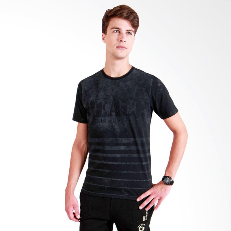 180 Degrees Peace T-Shirt Pria - Hitam