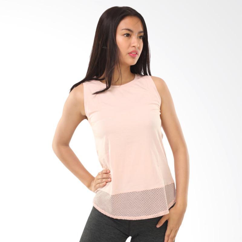 Active & Co FS Loose W Tanktop Olahraga Wanita - Soft Pink [ATK0021]