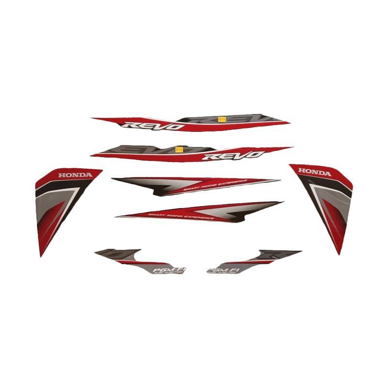 harga Idola Striping Aksesoris Body Motor for Revo STD FI 2014 - Hitam Merah Blibli.com