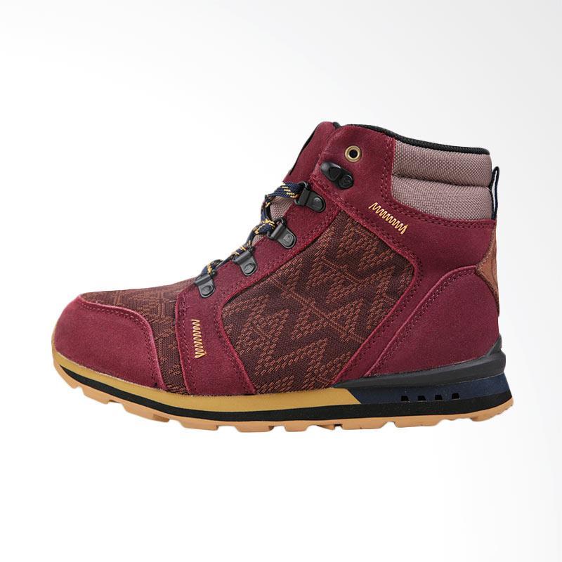 harga Eiger 1989 WS Oleander Mid Cut Shoes Sepatu Wanita - Burgundy Blibli.com