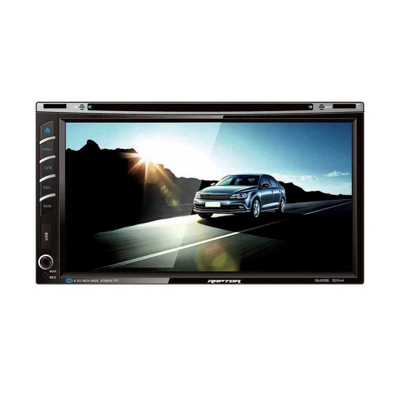 harga Raptor Ra-6996 Monitor Touch Screen Double Din Head Unit Mobil [6.95 Inch] Blibli.com