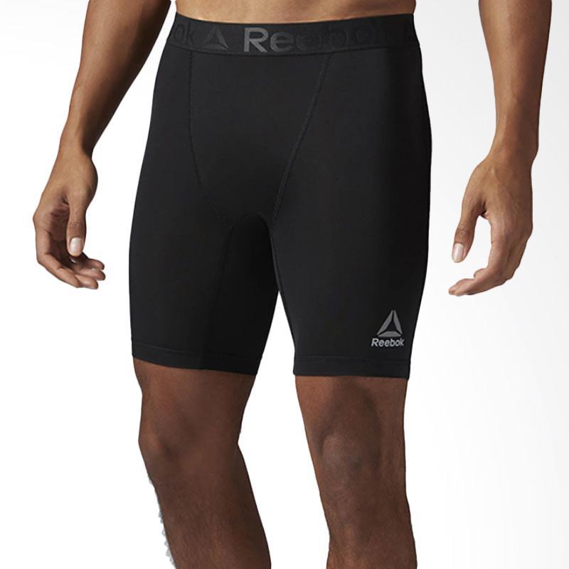 Reebok Workout Ready Compression Short Celana Fitness Pria [BK4174]