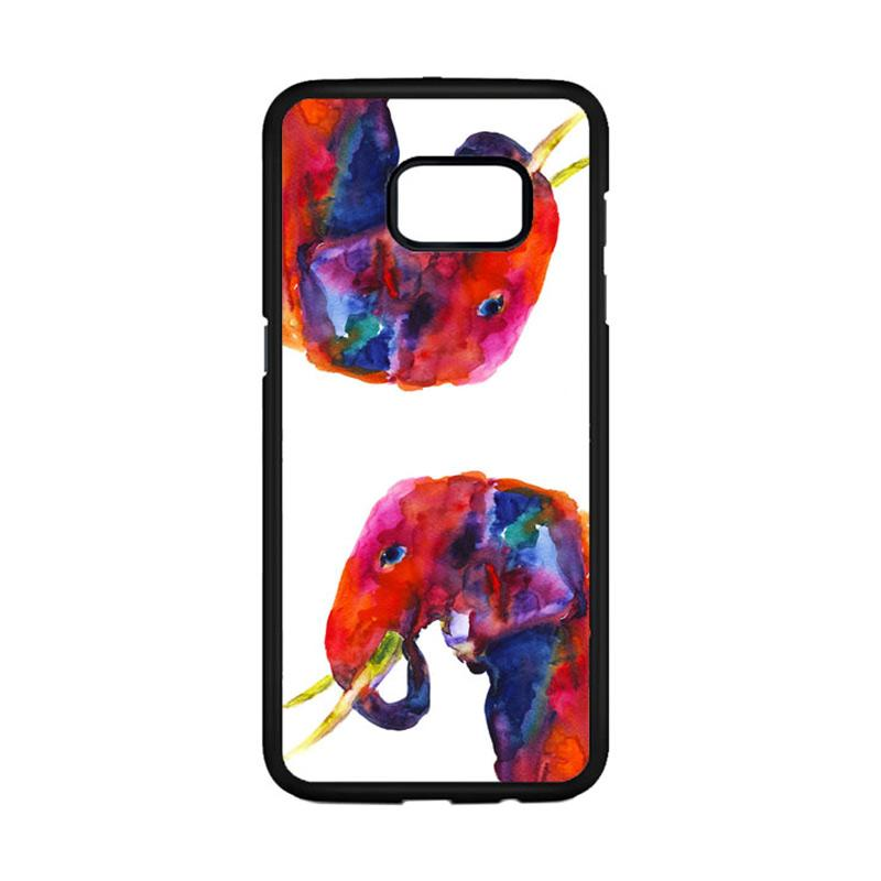 harga Acc Hp Color Full Watercolor Elephant G0087 Casing for Samsung Galaxy Note FE or Note 7 Blibli.com