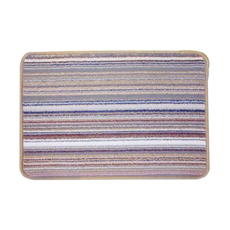 harga Classic Carpets Stripped Anti Slip Keset - Cream 01 [40 x 60 cm] Blibli.com