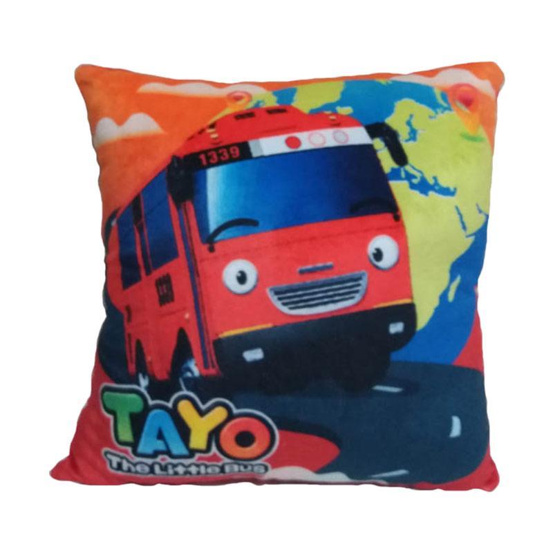 harga Nicola Printing Tayo The Little Bus Bantal - Colourful [35 x 35 cm] Blibli.com