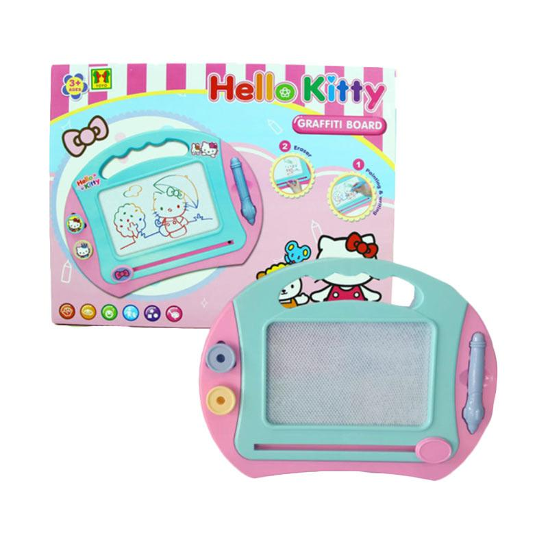 Yoyo Hello Kitty Graffiti Drawing Board Mainan Anak