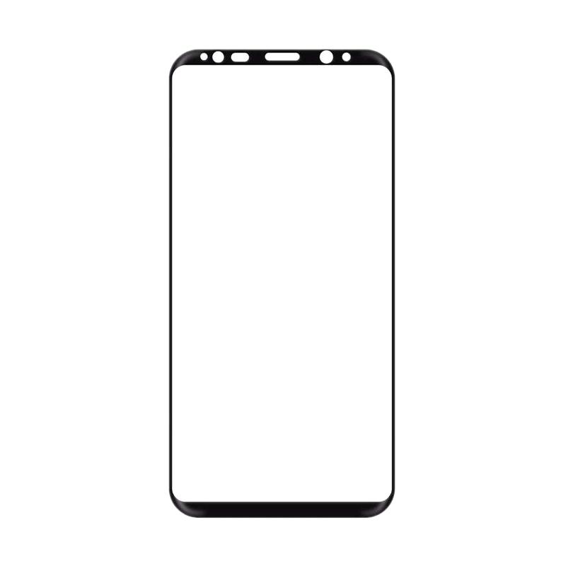 harga OEM Premium Tempered Glass Screen Protector for Samsung Galaxy S8 - Black Blibli.com