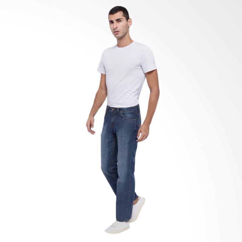 Jual Edwin Regular Fit Jeans Celana Panjang Pria - Biru [EDW-11-INDIGO] Online - Harga & Kualitas Terjamin | Blibli.com