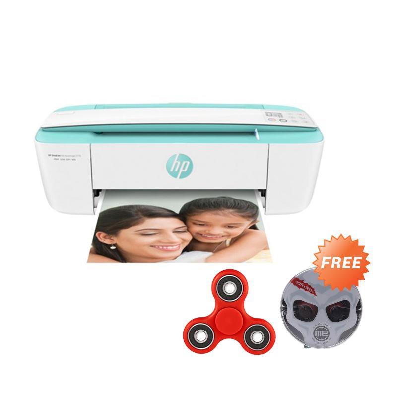HP DeskJet Ink Advantage 3776 All-in-one Printer [T8W39B] + Free AUDIOVOX JHB 506 Stereo Earphones - Black + Free Fidget Spinner