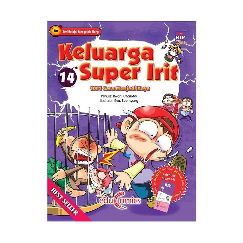 harga BIP Educomics Keluarga Super Irit 14 1001 Cara Menjadi Kaya by Kwon dan Chan Ho Buku Edukasi Blibli.com
