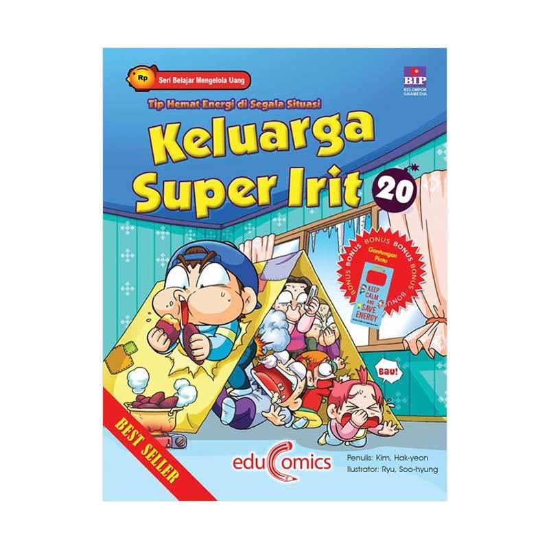 BIP Educomics Keluarga Super Irit 20 Tip Hemat Energi Di Segala Situasi by Kim Hak-yeon Buku Ekonomi