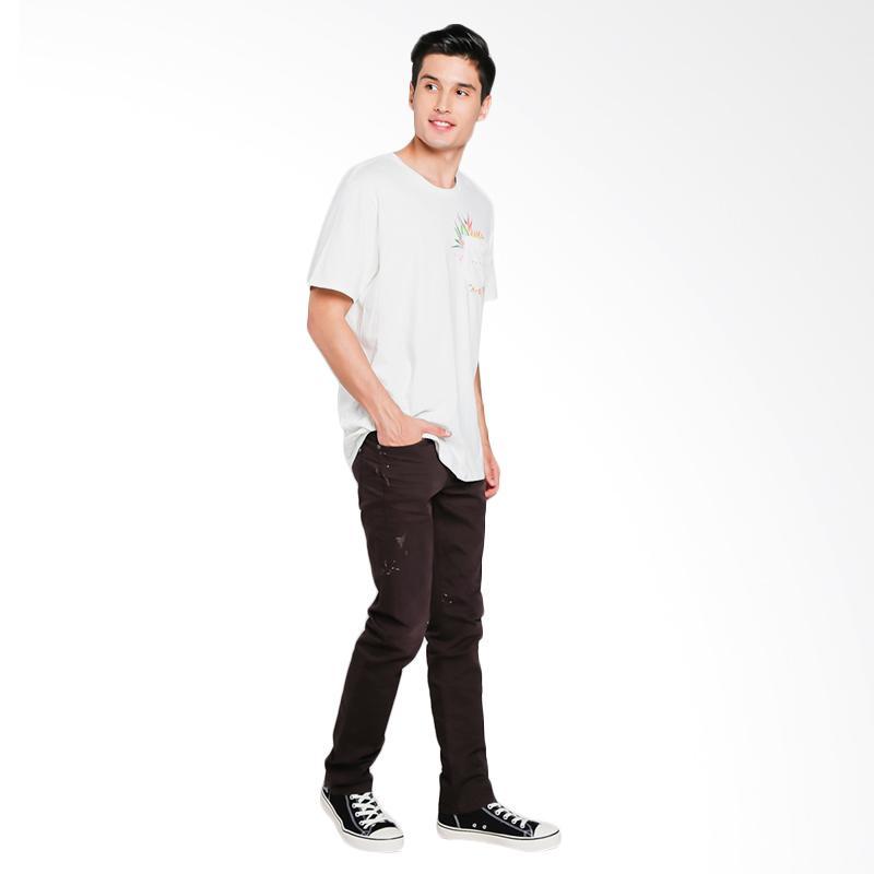 Jual Bushido Okayama Jeans Long Denim Skinny Celana Pria - Dark Brown [OM002ADGD16 WASH - A] Online - Harga & Kualitas Terjamin | Blibli.com