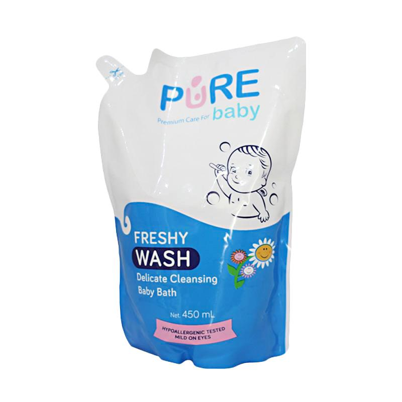 Pure Baby 2in1 Freshy Pure Baby Wash Refill [450 mL]