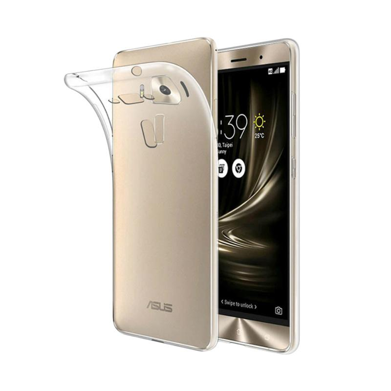 OEM Softjacket Air Case TPU Softcase Casing for Asus Zenfone 3 5.5 Inch - Clear