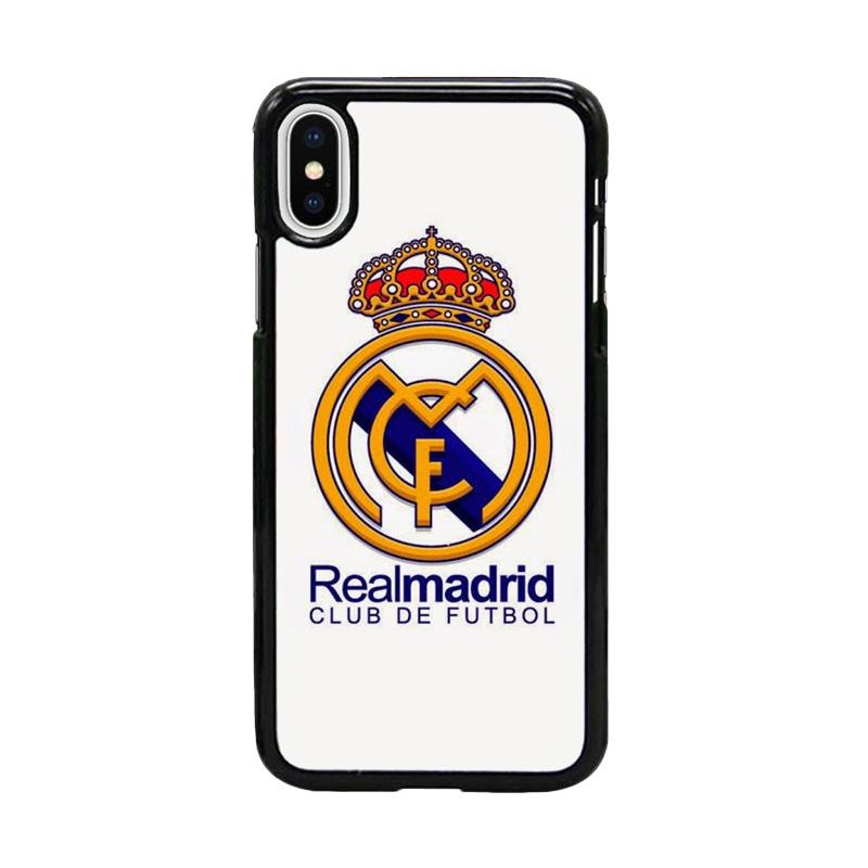 Acc Hp Real Madrid Logo W4941 Custom Casing for iPhone X
