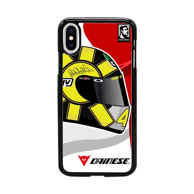 Acc Hp Helmet Agv Valentino Rossi W4950 Custom Casing for iPhone X