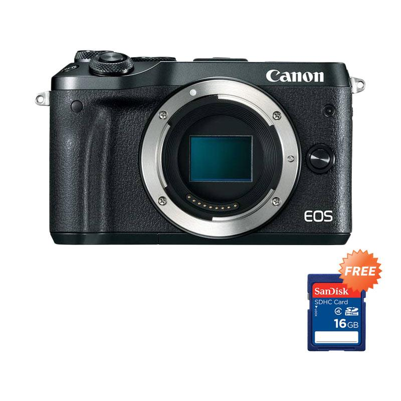 harga Canon EOS M6 Body Mirrorless - RESMI + Free Sandisk SDHC 16GB Blibli.com