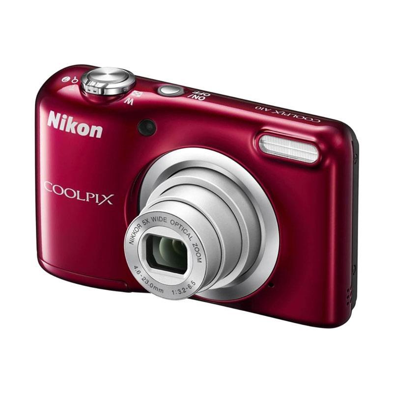 harga Nikon Coolpix A 10 Kamera Pocket - Red ( Free Screenguard Terpasang ) | Ladang Elektronik Blibli.com