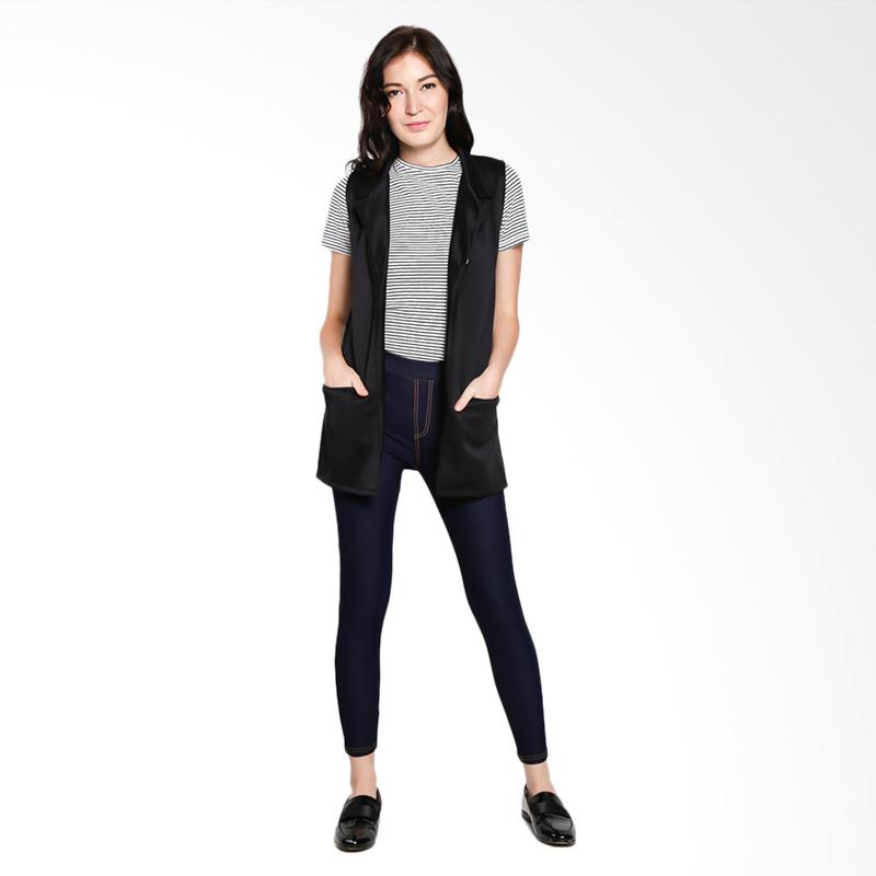 Papercut Fashion NK New Denim Skinny Pants Wanita