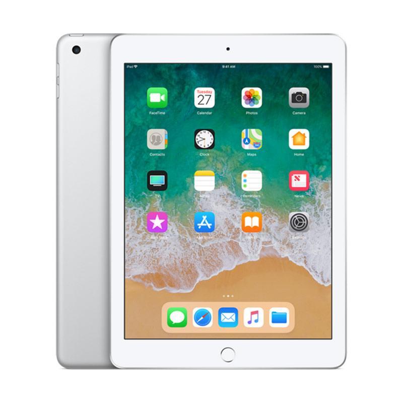 harga Apple New Ipad 2018 Tablet - Silver [128 GB/ 9.7 inch] Blibli.com