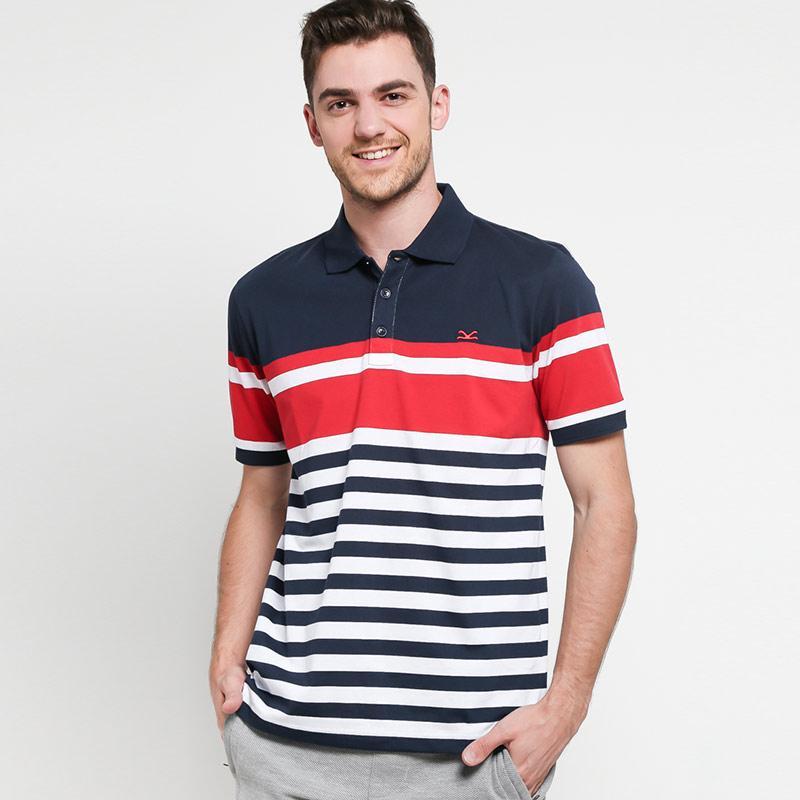 Carvil Salur Tommio-Bz Kombinasi Polo Shirt Pria