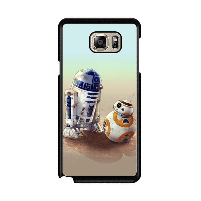 Jual Acc Hp R2 And Bb 8 Star Wars Wallpaper G0307 Custom Casing For Samsung Galaxy Note5 Online Maret 2021 Blibli
