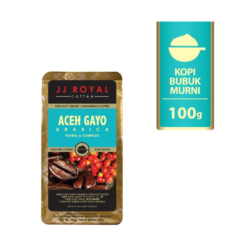harga Groceries - WHS - JJ Royal Gunung Biru Arabica Ground Bag Bubuk Kopi [100 g] Blibli.com