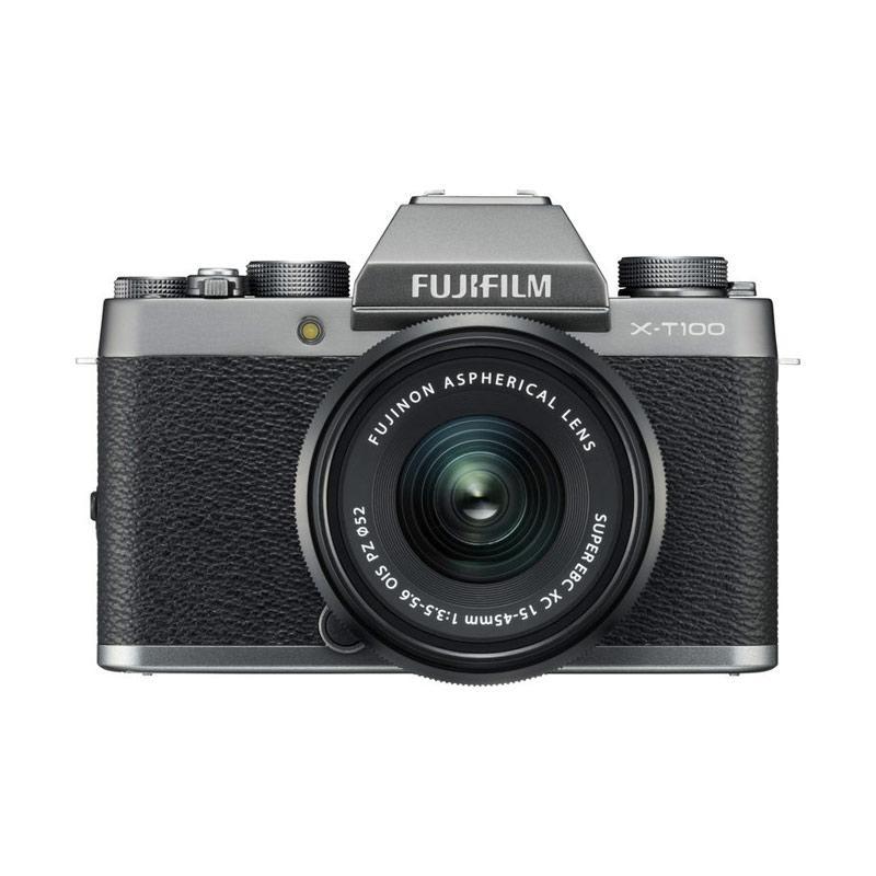 FOCUS NUSANTARA FUJIFILM X T100 Kit XC 15 45mm f 3 5 5 6 OIS PZ Free SDHC 16GB Claim NP W126S Althabasca Protector52mm s d 30 Sept 2020