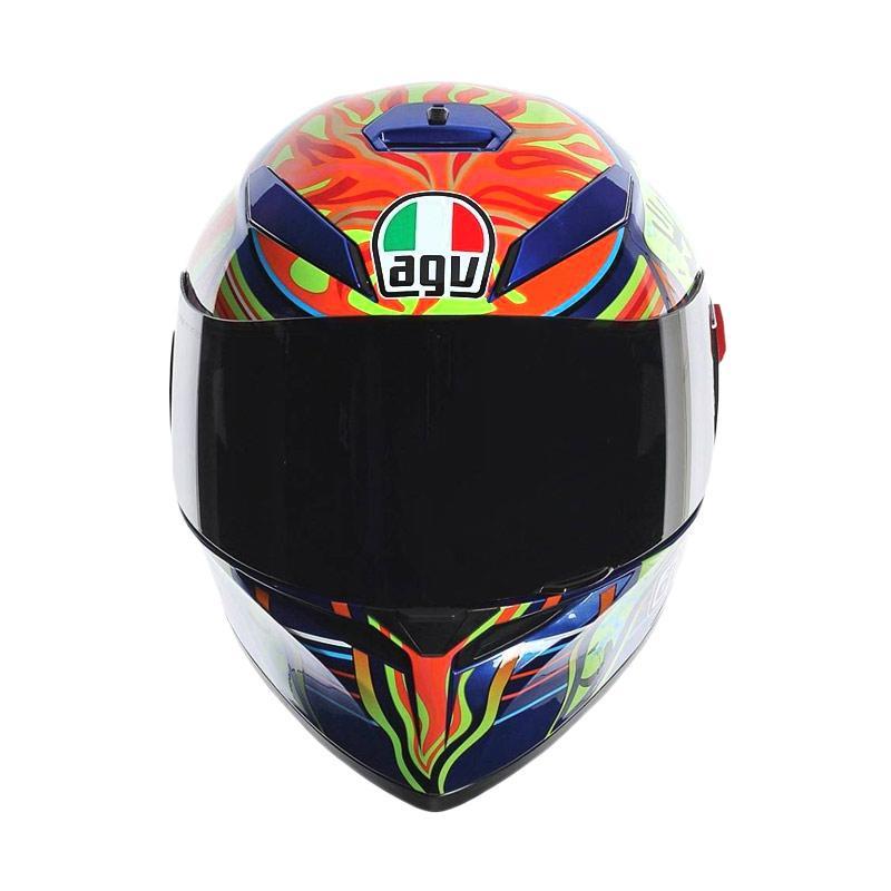 Jual Agv K3 Sv Five Continents Helm Full Face Blue Online Maret 2021 Blibli