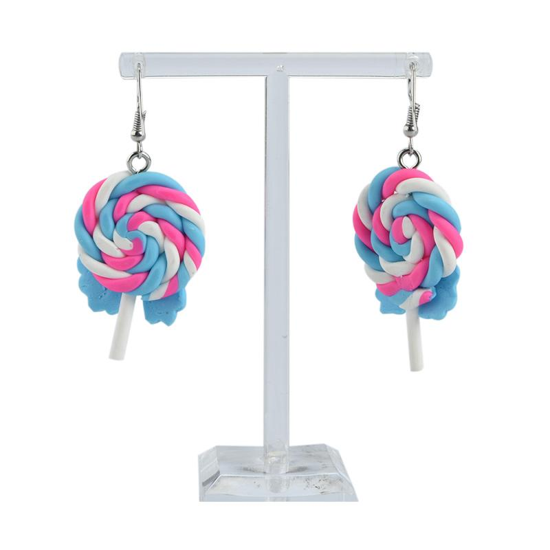 Naura Anting Clay Lolipop Blue Merchandise