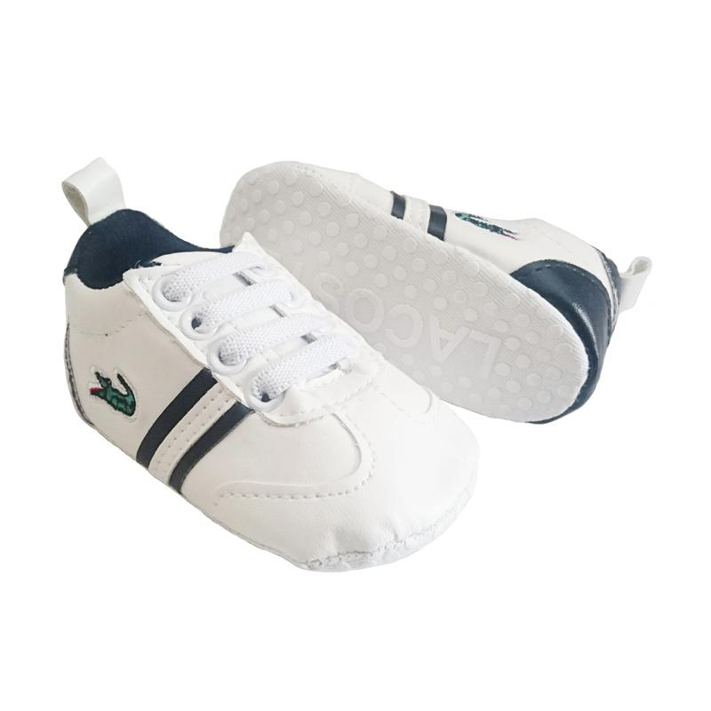 Prewalker Kets Shoes White Tali Crocodile Sepatu Bayi 698c556c16
